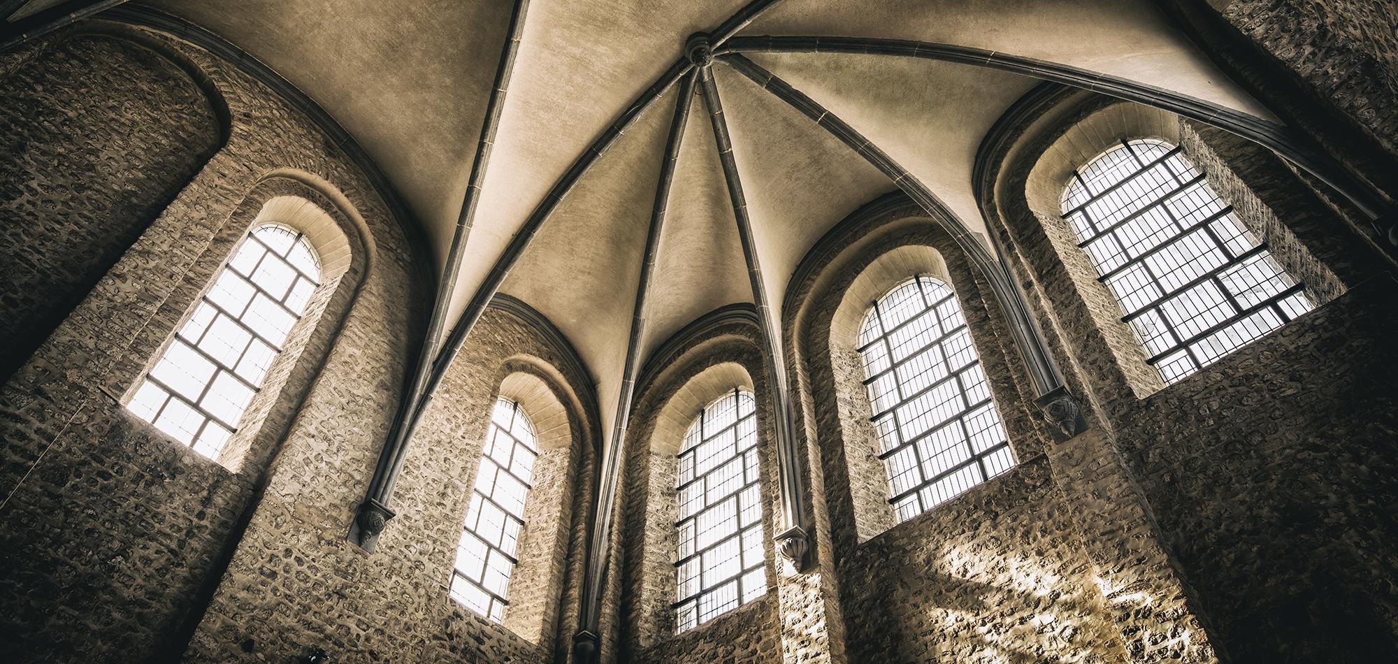 Architecture - Collégiale Sainte Gertrude